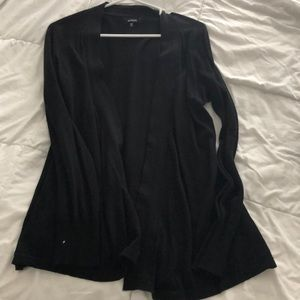 Express Flattering Black cardigan